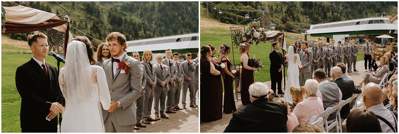Snow Basin Wedding
